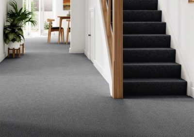 Grey Twist Pile Carpet